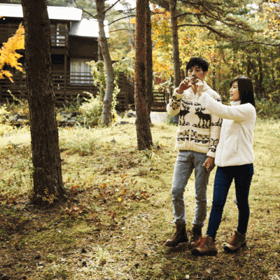 男性34~39歳&女性32~37歳#二人で紅葉を見ながら散歩したい!