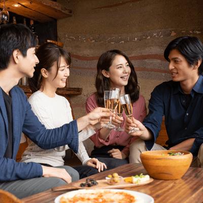 【着席型街コン♪】六本木恋活パーティー♡ ハイボール / 梅酒を堪能♪