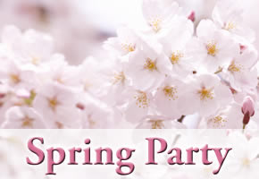 個室空間パーティー【Spring Party】