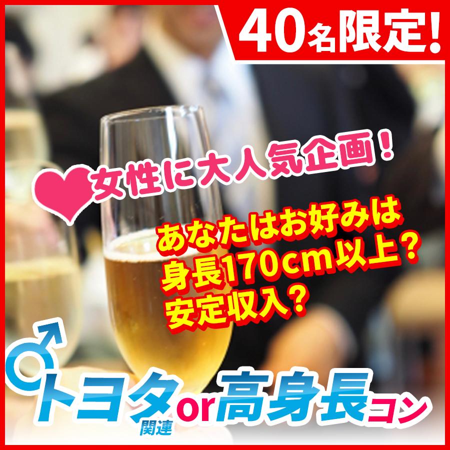 『男性:22~38歳☆女性:20~35歳』トヨタ関連or高身長in東岡崎