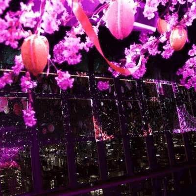 桜が咲く東京タワーで、ムード満点の婚活イベントを開催♪